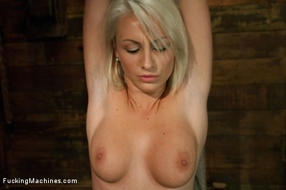 Photo number 4 from Porn Obstacle Course for Hot Amateur: Zipline of Vibrators, Spanking Sybian Ride, Wet Pussy Pounding shot for Fucking Machines on Kink.com. Featuring Lexi Swallow in hardcore BDSM & Fetish porn.