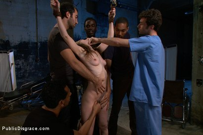Photo number 3 from Bondage Gang Bang Test Shoot shot for Public Disgrace on Kink.com. Featuring James Deen, Mickey Mod, Calixto, Seda, Bobby Bends and Lou Davis in hardcore BDSM & Fetish porn.