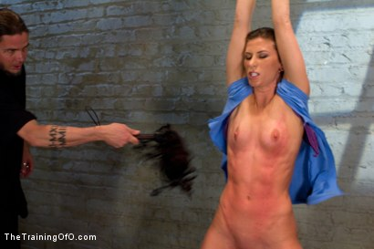 Photo number 1 from Ariel X Suffers Beautifully in Tight Bondage and Intense Torture shot for The Training Of O on Kink.com. Featuring Ariel X and The Pope in hardcore BDSM & Fetish porn.