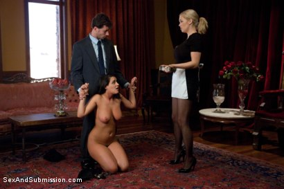 Photo number 3 from The Wife and the Servant shot for Sex And Submission on Kink.com. Featuring James Deen, Charley Chase and Katie Kox in hardcore BDSM & Fetish porn.