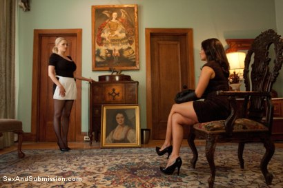 Photo number 1 from The Wife and the Servant shot for Sex And Submission on Kink.com. Featuring James Deen, Charley Chase and Katie Kox in hardcore BDSM & Fetish porn.