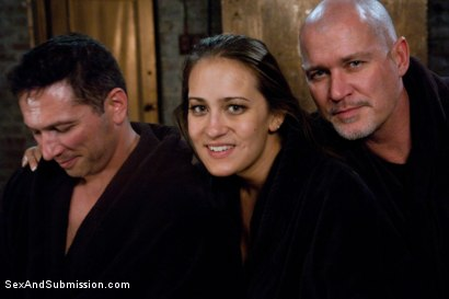 Photo number 15 from The Debt Collectors III shot for Sex And Submission on Kink.com. Featuring Mark Davis, Trina Michaels and John Strong in hardcore BDSM & Fetish porn.