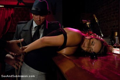 Photo number 3 from The Debt Collectors III shot for Sex And Submission on Kink.com. Featuring Mark Davis, Trina Michaels and John Strong in hardcore BDSM & Fetish porn.