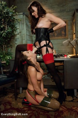 Photo number 6 from Anal Boot Camp shot for Everything Butt on Kink.com. Featuring Derrick Pierce, Dana DeArmond and Chanel Preston in hardcore BDSM & Fetish porn.
