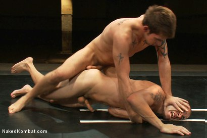Photo number 5 from Nikko Alexander vs Jake Austin shot for Naked Kombat on Kink.com. Featuring Chris Tyler and Jake Austin in hardcore BDSM & Fetish porn.