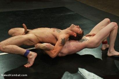 Photo number 5 from DJ vs Dragon shot for Naked Kombat on Kink.com. Featuring DJ and Dragon in hardcore BDSM & Fetish porn.