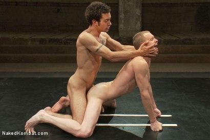 Photo number 12 from DJ vs Dragon shot for Naked Kombat on Kink.com. Featuring DJ and Dragon in hardcore BDSM & Fetish porn.