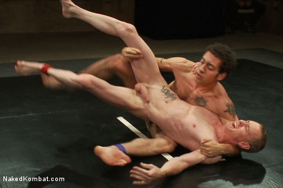 Photo number 8 from DJ vs Dragon shot for Naked Kombat on Kink.com. Featuring DJ and Dragon in hardcore BDSM & Fetish porn.