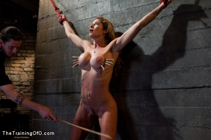 Photo number 1 from Hard Bodied Slut, Felony, is Torn Apart   During a Long Day of Brutal Torment shot for The Training Of O on Kink.com. Featuring Felony and The Pope in hardcore BDSM & Fetish porn.
