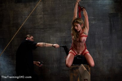 Photo number 13 from Hard Bodied Slut, Felony, is Torn Apart <br>During a Long Day of Brutal Torment shot for The Training Of O on Kink.com. Featuring Felony and The Pope in hardcore BDSM & Fetish porn.