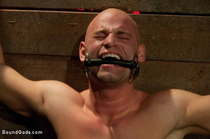 Photo number 11 from Taste of Leather shot for Bound Gods on Kink.com. Featuring Patrick Rouge and Master Avery in hardcore BDSM & Fetish porn.