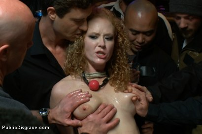 Photo number 1 from Air-Tight shot for Public Disgrace on Kink.com. Featuring John Strong, Otto Bauer and Audrey Hollander in hardcore BDSM & Fetish porn.