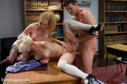 Photo number 10 from Anal 102 shot for Everything Butt on Kink.com. Featuring Otto Bauer, Audrey Hollander and Chloe Camilla in hardcore BDSM & Fetish porn.