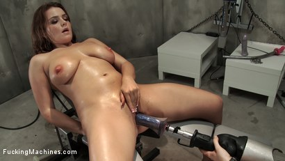 Photo number 8 from Tits Sucked, Pussy Fucked, Ass Shaking Machine Orgasms shot for Fucking Machines on Kink.com. Featuring Natasha Nice in hardcore BDSM & Fetish porn.
