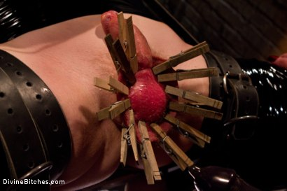 """Photo number 15 from Examining The Teachers Pet: Episode 4 """"The Eastern European Dominatrix"""" shot for Divine Bitches on Kink.com. Featuring Zak Tyler and Nika Noire in hardcore BDSM & Fetish porn."""
