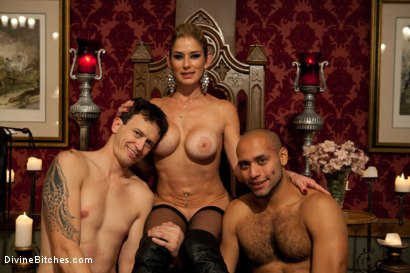Photo number 10 from The Newest Divine Bitch shot for Divine Bitches on Kink.com. Featuring Felony, Derrick P. and Leo Forte in hardcore BDSM & Fetish porn.