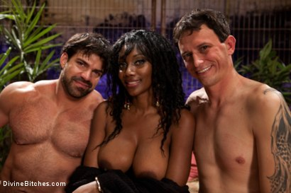 Photo number 7 from If Only You Would Have Made My Pussy Purrrrrrrrrr shot for Divine Bitches on Kink.com. Featuring Derrick P., Nyomi Banxxx and Vince Ferelli in hardcore BDSM & Fetish porn.