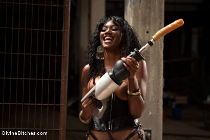 Photo number 4 from If Only You Would Have Made My Pussy Purrrrrrrrrr shot for Divine Bitches on Kink.com. Featuring Derrick P., Nyomi Banxxx and Vince Ferelli in hardcore BDSM & Fetish porn.