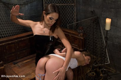 Photo number 12 from Amber's Little Plaything shot for Whipped Ass on Kink.com. Featuring Amber Rayne and Kiera King in hardcore BDSM & Fetish porn.