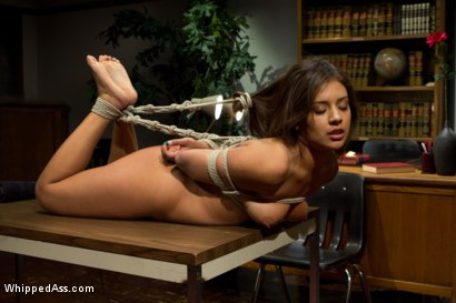 Photo number 14 from 20 year old double fisted for the first time! shot for Whipped Ass on Kink.com. Featuring Jynx Maze and Aiden Starr in hardcore BDSM & Fetish porn.