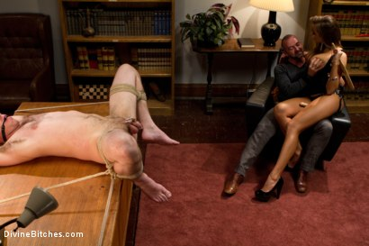 Photo number 15 from Sadistic wife cuckolds husband with tantric sex specialist. shot for Divine Bitches on Kink.com. Featuring Nika Noire, Josh West and Vern Hopkins in hardcore BDSM & Fetish porn.