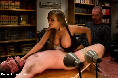 Photo number 5 from Sadistic wife cuckolds husband with tantric sex specialist. shot for Divine Bitches on Kink.com. Featuring Nika Noire, Josh West and Vern Hopkins in hardcore BDSM & Fetish porn.