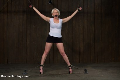 Photo number 1 from Tip Tap shot for Device Bondage on Kink.com. Featuring Devon Taylor in hardcore BDSM & Fetish porn.