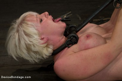 Photo number 13 from It Burns! shot for Device Bondage on Kink.com. Featuring Devon Taylor in hardcore BDSM & Fetish porn.