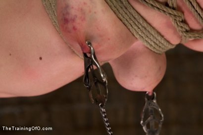 Photo number 4 from Lily LaBeau Day 2 shot for The Training Of O on Kink.com. Featuring Lily LaBeau and Wolf Hudson in hardcore BDSM & Fetish porn.