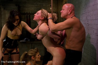 Photo number 12 from Lily LaBeau Day 1 shot for The Training Of O on Kink.com. Featuring Lily LaBeau, Tom Moore, Felony and Sinn Sage in hardcore BDSM & Fetish porn.