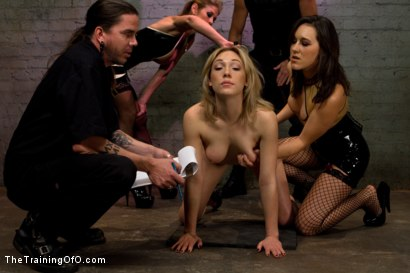 Photo number 1 from Lily LaBeau Day 1 shot for The Training Of O on Kink.com. Featuring Lily LaBeau, Tom Moore, Felony and Sinn Sage in hardcore BDSM & Fetish porn.