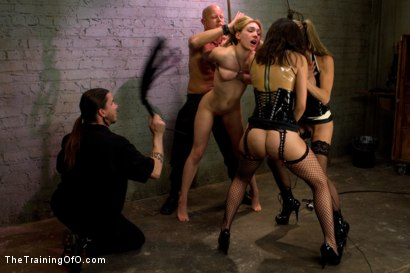 Photo number 2 from Lily LaBeau Day 1 shot for The Training Of O on Kink.com. Featuring Lily LaBeau, Tom Moore, Felony and Sinn Sage in hardcore BDSM & Fetish porn.