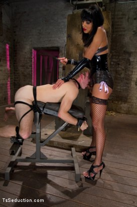 Photo number 9 from Giantess - Ts Giantess, a Little Man, a Giant cum shot shot for TS Seduction on Kink.com. Featuring Yasmin Lee and Ned Mayhem in hardcore BDSM & Fetish porn.