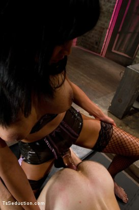 Photo number 10 from Giantess - Ts Giantess, a Little Man, a Giant cum shot shot for TS Seduction on Kink.com. Featuring Yasmin Lee and Ned Mayhem in hardcore BDSM & Fetish porn.