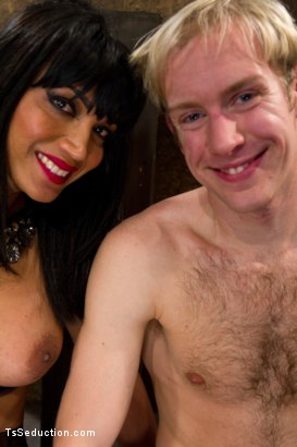 Photo number 15 from Giantess - Ts Giantess, a Little Man, a Giant cum shot shot for TS Seduction on Kink.com. Featuring Yasmin Lee and Ned Mayhem in hardcore BDSM & Fetish porn.