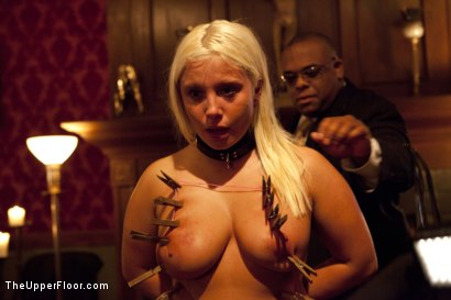 Photo number 6 from Freshmeat Review: A Presentation Of Kait Snow shot for The Upper Floor on Kink.com. Featuring Kait Snow in hardcore BDSM & Fetish porn.