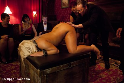 Photo number 10 from Freshmeat Review: A Presentation Of Kait Snow shot for The Upper Floor on Kink.com. Featuring Kait Snow in hardcore BDSM & Fetish porn.