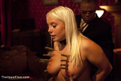 Photo number 15 from Freshmeat Review: A Presentation Of Kait Snow shot for The Upper Floor on Kink.com. Featuring Kait Snow in hardcore BDSM & Fetish porn.
