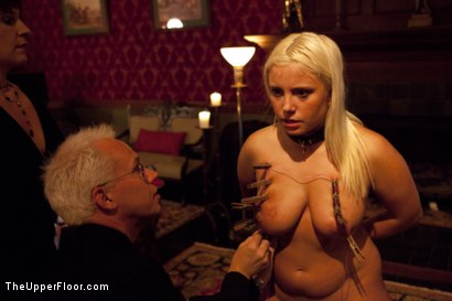Photo number 7 from Freshmeat Review: A Presentation Of Kait Snow shot for The Upper Floor on Kink.com. Featuring Kait Snow in hardcore BDSM & Fetish porn.