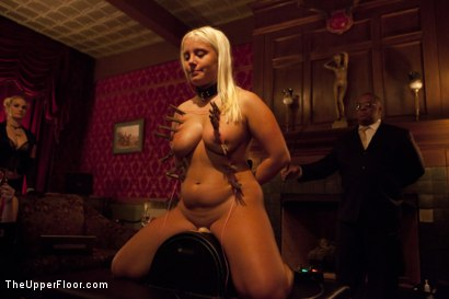 Photo number 8 from Freshmeat Review: A Presentation Of Kait Snow shot for The Upper Floor on Kink.com. Featuring Kait Snow in hardcore BDSM & Fetish porn.