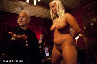 Photo number 3 from Freshmeat Review: A Presentation Of Kait Snow shot for The Upper Floor on Kink.com. Featuring Kait Snow in hardcore BDSM & Fetish porn.