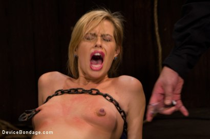 Photo number 2 from Pretty Pink Pain.  shot for Device Bondage on Kink.com. Featuring Tara Lynn Foxx in hardcore BDSM & Fetish porn.