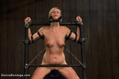 Photo number 13 from Pretty Pink Pain.  shot for Device Bondage on Kink.com. Featuring Tara Lynn Foxx in hardcore BDSM & Fetish porn.