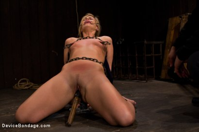Photo number 1 from Pretty Pink Pain.  shot for Device Bondage on Kink.com. Featuring Tara Lynn Foxx in hardcore BDSM & Fetish porn.