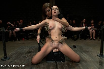 Photo number 6 from Reality Check shot for Public Disgrace on Kink.com. Featuring James Deen, Bobbi Brixton and Princess Donna Dolore in hardcore BDSM & Fetish porn.