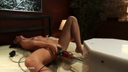 Photo number 13 from The Quick and The Dirty: Muscle Bound Babe takes Down the FuckingMachines with Her Pussy shot for Fucking Machines on Kink.com. Featuring Ariel X in hardcore BDSM & Fetish porn.