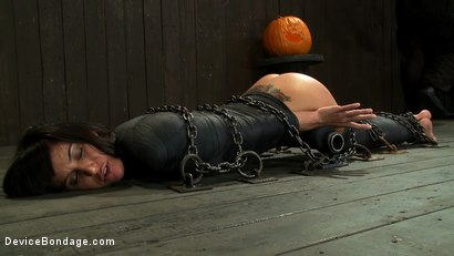 Photo number 10 from If you have a perfect ass & get mummified with your ass sticking up  You're going to get fucked shot for Device Bondage on Kink.com. Featuring Gia DiMarco and Maestro in hardcore BDSM & Fetish porn.