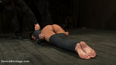 Photo number 7 from If you have a perfect ass & get mummified with your ass sticking up  You're going to get fucked shot for Device Bondage on Kink.com. Featuring Gia DiMarco and Maestro in hardcore BDSM & Fetish porn.