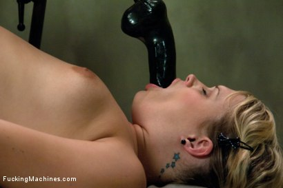 Photo number 13 from Former MidWestern Gymnast and Dance Squad Girl Squirts from Machine Fucking shot for Fucking Machines on Kink.com. Featuring Heather Starlett in hardcore BDSM & Fetish porn.
