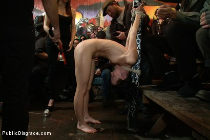 Photo number 1 from Total Awesomeness shot for Public Disgrace on Kink.com. Featuring Elise Graves, Tommy Pistol and Princess Donna Dolore in hardcore BDSM & Fetish porn.